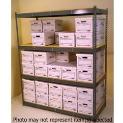 Widespan Shelving - 69 x 22w x 30 x 22d x 84%22t - High Strength Steel Shelving